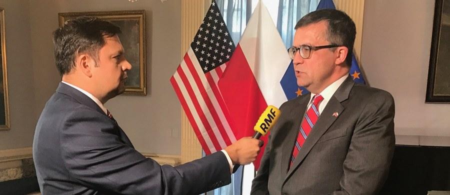 """Już ponad 30 razy w tym roku interweniowała polska ambasada w Waszyngtonie w związku z pojawiającym się w Stanach Zjednoczonych określeniem """"polskie obozy śmierci"""" - mówi RMF FM ambasador RP w Waszyngtonie Piotr Wilczek."""