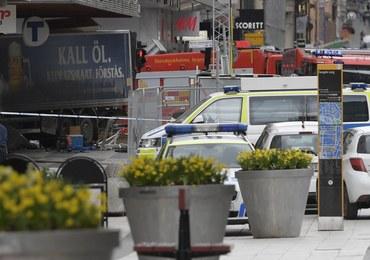Zamachowiec ze Sztokholmu na czacie: Rozjechałem ludzi, muszę się stąd wydostać