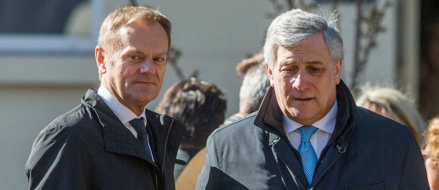 """Połączenie stanowisk przewodniczącego Komisji Europejskiej i Rady Europejskiej zaproponował szef Parlamentu Europejskiego Antonio Tajani. W wywiadzie dla dziennika """"Corriere della Sera"""" podkreślił, że taką możliwość przewidują traktaty unijne."""