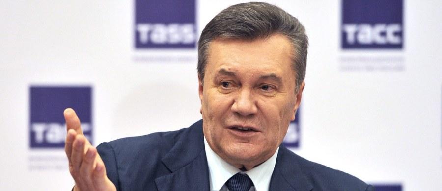 Sąd rejonowy dzielnicy Obołoń w Kijowie zakończył w piątek postępowanie przygotowawcze w procesie oskarżonego o zdradę stanu byłego prezydenta Ukrainy Wiktora Janukowycza i ogłosił termin pierwszej rozprawy w tej sprawie, która odbędzie się 26 czerwca.