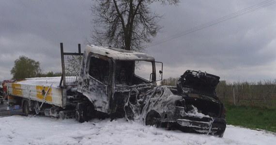 Tragiczny poranek na drogach Lubelszczyzny. Doszło do dwóch wypadków, w który zginęły cztery osoby.