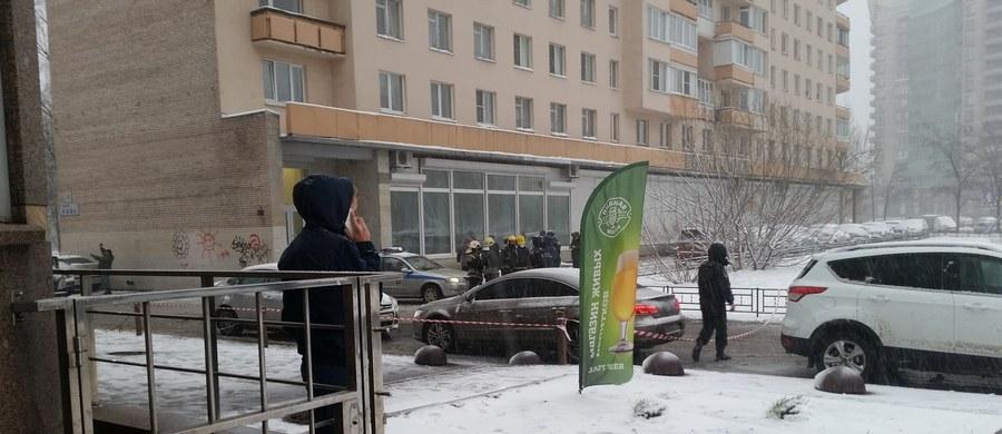 Eksplozja obok biblioteki na Wyspie Wasilewskiej w Sankt Petersburgu. Poważnie ranny został nastolatek, który niósł ładunek wybuchowy w plecaku.