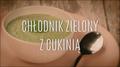 Przepis na zielony chłodnik z cukinią