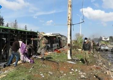 Syria: Blisko 70 dzieci zginęło w zamachu na konwój z ewakuowaną ludnością
