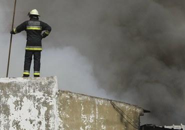 Portugalia: Przed jednym z supermarketów rozbiła się awionetka