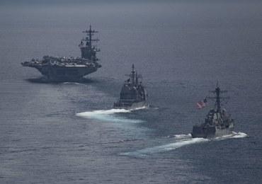 Armada USA wysłana w stronę Korei popłynęła w drugim kierunku