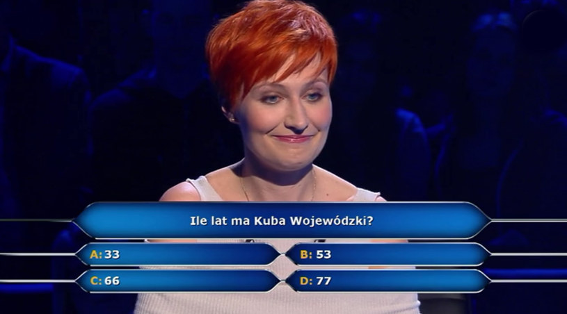 """W ostatnim odcinku """"Milionerów"""" padło pytanie o wiek Kuby Wojewódzkiego, które wywołało niemałe poruszenie wśród internautów."""