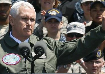 Wiceprezydent USA ostrzega Koreę Północną: Miecz czeka w gotowości