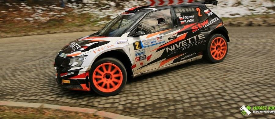 Filip Nivette wygrał Rajd Świdnicki-Krause - pierwszą rundę Inter Cars Rajdowych Samochodowych Mistrzostw Polski. Drugie miejsce ze stratą 38,9 sekundy zajął Zbigniew Gabryś.
