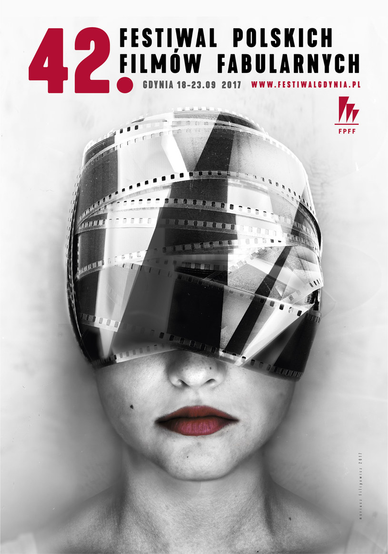 Właśnie zaprezentowano oficjalny plakat tegorocznego Festiwalu Polskich Filmów Fabularnych w Gdyni. Jest nim praca autorstwa Mariusza Filipowicza.