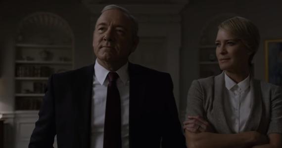 """Do sieci trafił pierwszy zwiastun 5. sezonu popularnego serialu """"House of Cards"""". Premiera zapowiadana jest na 30 maja."""