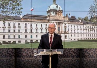 Czeski premier zapowiedział dymisję swojego rządu