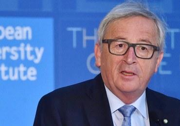 Juncker: UE będzie z absolutną lojalnością negocjować warunki Brexitu
