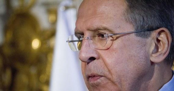 99fac5661e Minister spraw zagranicznych Rosji Siergiej Ławrow powiedział w  poniedziałek