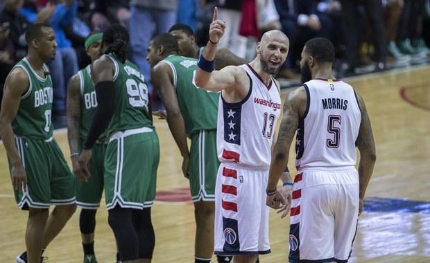 Marcin Gortat zdobył sześć punktów, a jego Washington Wizards we własnej hali pokonali Boston Celtics 121:102 w czwartym meczu drugiej rundy fazy play off koszykarskiej ligi NBA. W rywalizacji do czterech zwycięstw jest remis 2-2.