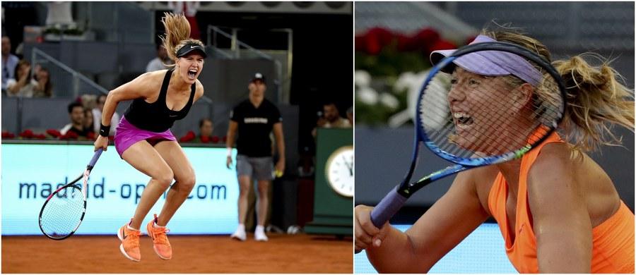 Kanadyjka Eugenie Bouchard pokonała po trwającym prawie trzy godziny meczu Rosjankę Marię Szarapową 7:5, 2:6, 6:4 w 2. rundzie turnieju WTA w Madrycie z pulą nagród 5,4 mln dolarów. Jej kolejną rywalką będzie najwyżej rozstawiona Niemka Angelique Kerber.