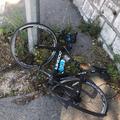 Chris Froome miał wypadek podczas treningu, rower zniszczony