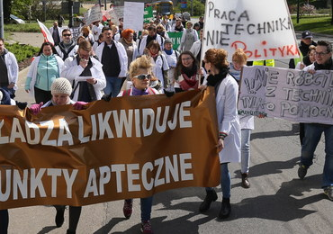 Sukces protestujących techników farmaceutycznych