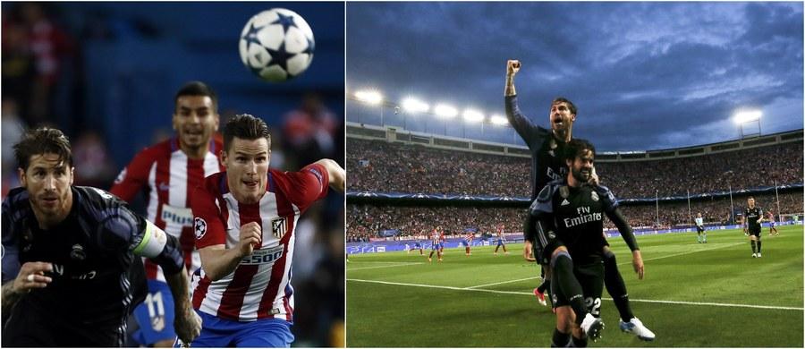 """Atletico Madryt przegrało z honorem - tak hiszpańscy dziennikarze podsumowują rywalizację drużyny z Vicente Calderon z Realem Madryt w półfinale Ligi Mistrzów. Drużyna Diego Simeone wygrała w rewanżu 2:1. W pierwszym meczu """"Królewscy"""" zwyciężyli jednak 3:0 i to oni zagrają w finale z Juventusem Turyn."""
