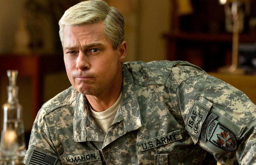 """26 maja w serwisie Netflix premierę będzie mieć film """"Machina wojenna"""" w reżyserii Davida Michôda (""""Królestwo zwierząt""""). Główną rolę zagrał Brad Pitt."""
