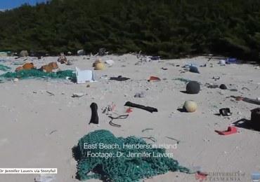 Bezludna wyspa pełna plastikowych śmieci. Niepokojące odkrycie na Pacyfiku