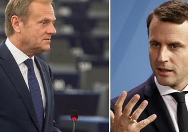 Tusk i Macron chcą przebudować Europę