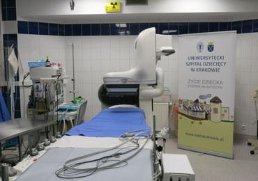 Nowoczesny angiograf w Uniwersyteckim Szpitalu Dziecięcym w Krakowie