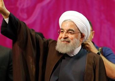 """Prezydent Iranu Hasan Rowhani wybrany na drugą kadencję. """"Nadzieja wygrała z izolacją"""""""