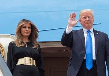Melania Trump bez chusty na głowie w czasie wizyty w Arabii Saudyjskiej