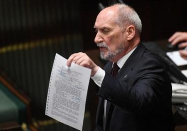 Macierewicz: Myślałem, że więcej posłów zagłosuje za odwołaniem mnie
