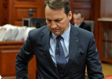 Radosław Sikorski był przesłuchiwany ws. zdrady dyplomatycznej