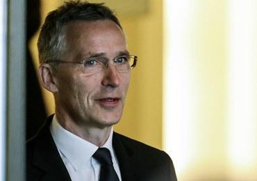 """Szef NATO przypomina o obietnicy z 2014 roku. """"Dziś napięcie rośnie"""""""