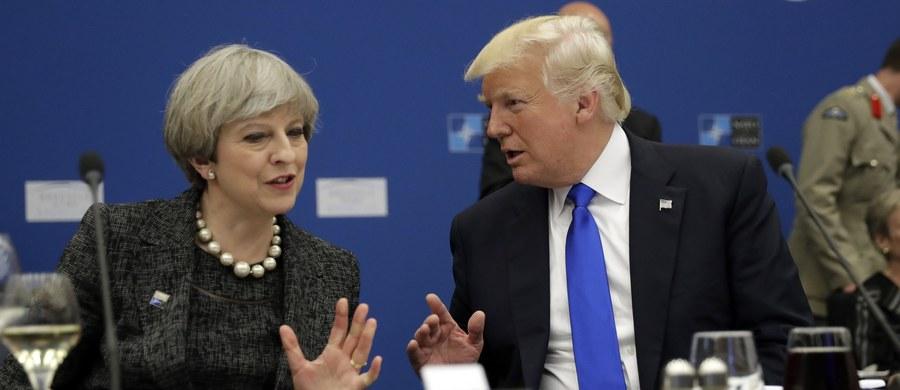 """Prezydent USA Donald Trump wydał oświadczenie, w którym zobowiązał się do pociągnięcia do odpowiedzialności osób, które przekazały mediom w USA informacje o śledztwie ws. zamachu w Manchesterze. Uznał te przecieki za """"głęboko niepokojące""""."""