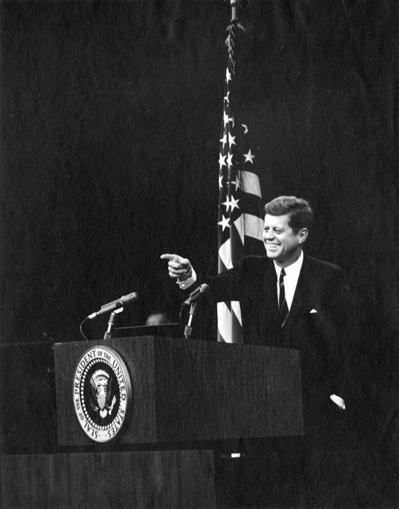 EPA/ABBIE ROWE / JFK PRESIDENTIAL LIBRARY