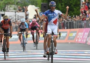 Giro d'Italia: Pinot wygrał 20. etap, Quintana nadal liderem