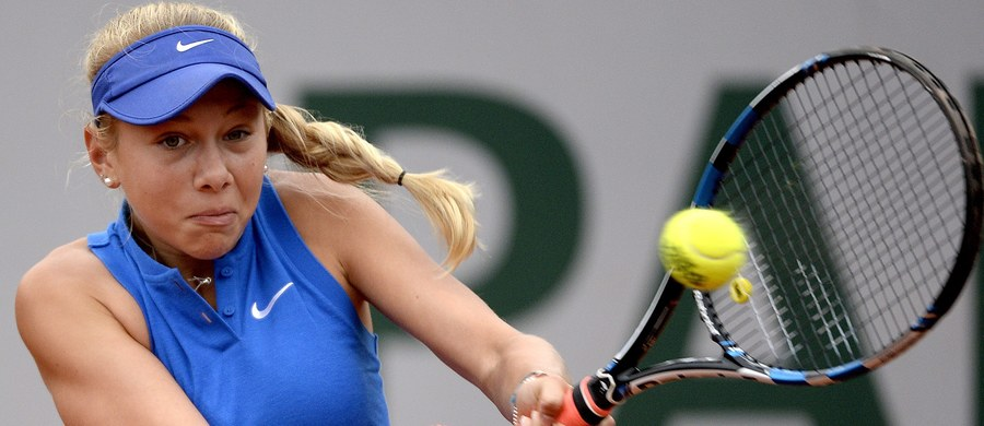 15-letnia Amanda Anisimova na pierwszej rundzie zakończyła występ we French Open, ale i tak zapisała się w historii. Amerykanka została pierwszą tenisistką urodzoną w XXI wieku, która wystąpiła w turnieju Wielkiego Szlema.