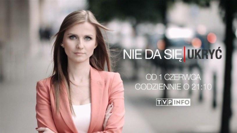 """1 czerwca na antenie TVP Info zadebiutuje nowy program """"Nie da się ukryć"""". Jego gospodynią została była reporterka """"Wiadomości""""- Ewa Bugała."""