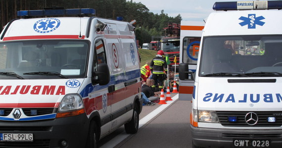 Blisko 30 dzieci trafiło na obserwację do szpitala w Sulechowie w Lubuskiem po tym, jak autokar, którym jechały zderzył się z samochodem osobowym. Siedmioro z nich ma lekkie obrażenia. Do wypadku doszło na drodze krajowej numer 32 na trasie Sulechów - Kargowa. Na miejscu trwa akcja służb.