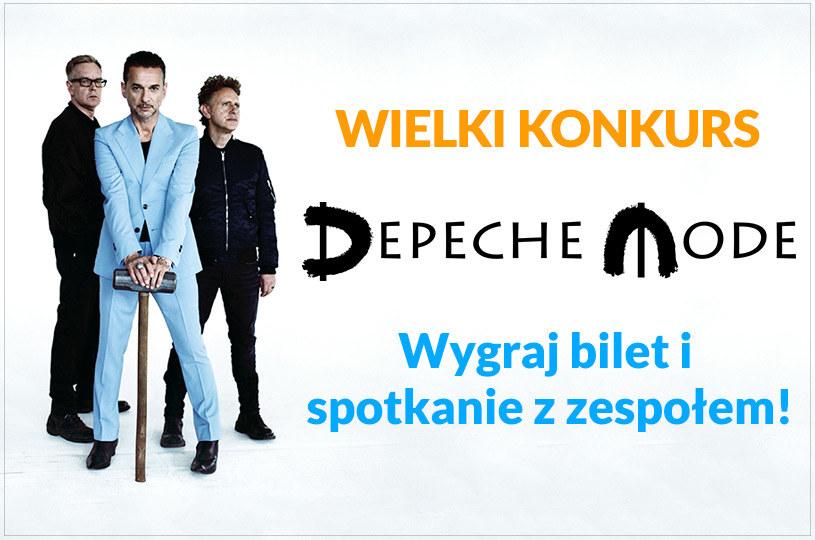 W naszym konkursie można było wygrać udział w koncercie i spotkaniu z Depeche Mode 21 lipca 2017 r. na Stadionie Narodowym w Warszawie.