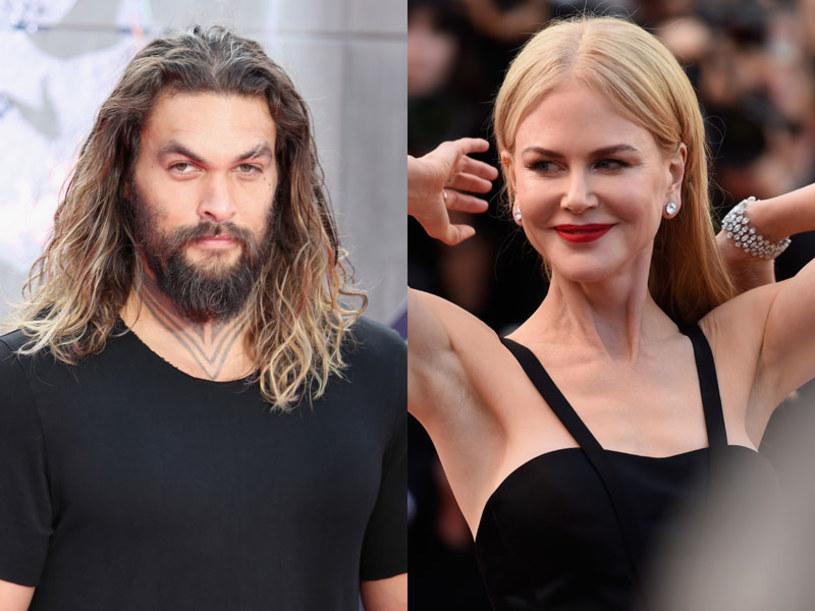 """49-letnia Nicole Kidman zagra Lady Atlannę - matkę tytułowego bohatera w filmie """"Aquaman"""". Jej ekranowym synem będzie młodszy od niej o zaledwie 12 lat Jason Momoa."""
