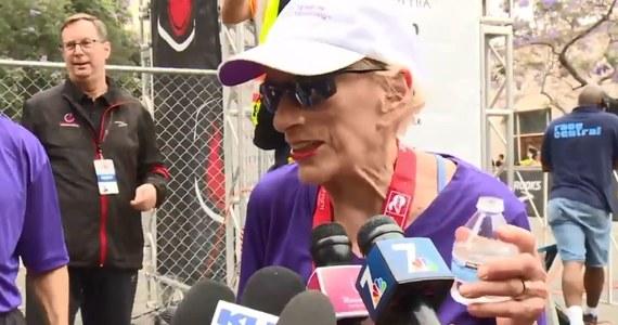 94-letnia Harriette Thompson przebiegła półmaraton w San Diego w USA. Została tym samym najstarszą kobietą, której się to udało.