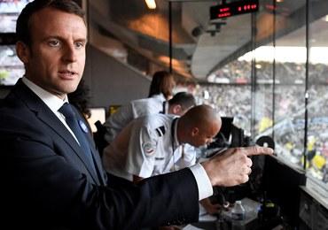 W niedzielę wybory we Francji. W sondażu prowadzi partia Macrona