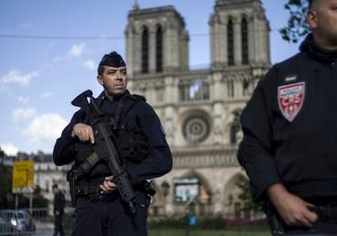Zaatakował młotkiem policjanta przed Notre Dame. Pracował jako dziennikarz w Szwecji