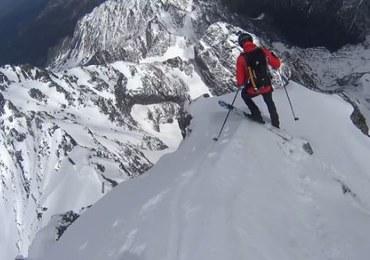 Z Rysów na nartach. Dla Andrzeja Bargiela to zabawa