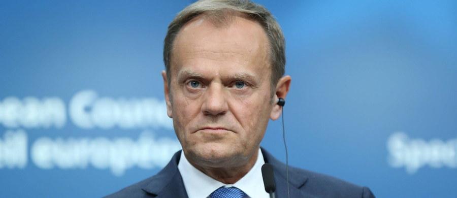 Przesłuchanie byłego premiera, a obecnie szefa Rady Europejskiej Donalda Tuska odbędzie się pod koniec prac sejmowej komisji śledczej ds. Amber Gold, czyli wiosną 2018 roku. Taką informację przekazała PAP szefowa komisji Małgorzata Wassermann (PiS).