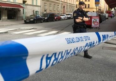 Ciężarówka staranowała taksówkę w Sztokholmie. Sprawca uciekł