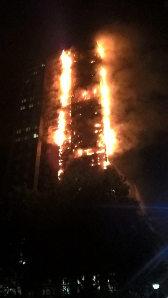 LONDON FIRE BRIGADE HANDOUT