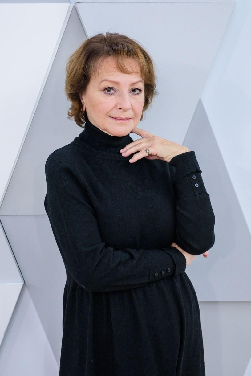 """Aktorka Małgorzata Niemirska, pamiętna radiotelegrafistka Lidka w serialu """"Czterej pancerni i pies"""", w piątek, 16 czerwca, obchodzi 70. urodziny."""