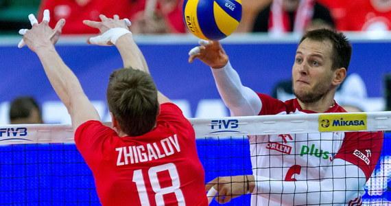 Polscy siatkarze przegrali w Katowicach z Rosjanami 0:3 (22:25, 17:25, 21:25) w meczu Ligi Światowej. To czwarta porażka biało-czerwonych w tegorocznych rozgrywkach. Na koncie mają też trzy zwycięstwa.