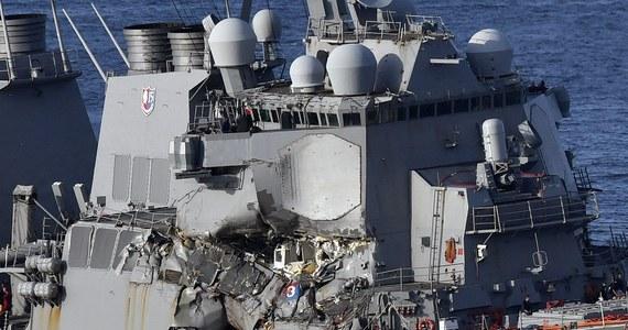Ciała siedmiu członków załogi amerykańskiego niszczyciela rakietowego USS Fitzgerald - zaginionych po kolizji z kontenerowcem u wybrzeży Japonii - zostały odnalezione na pokładzie jednostki. Według dowództwa 7 Floty USA znajdowały się w najbardziej zniszczonej części statku. Na razie amerykańskie służby nie ujawniają tożsamości marynarzy. Ich dane zostaną podane do wiadomości publicznej w terminie późniejszym – twierdzi japońska agencja KYODO.